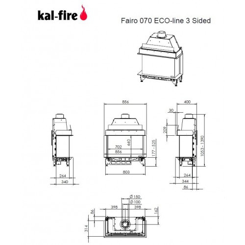 Fairo ECO-line 70 3-sided